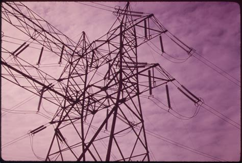 Transmission Lines Of Electrical Power Station Built