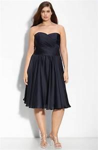 chic deep navy blue plus size bridesmaid dress by monique With navy blue wedding dress plus size