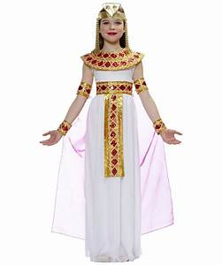 Kids Pink Cleopatra Egyptian Costume - Girls Egyptian Costumes