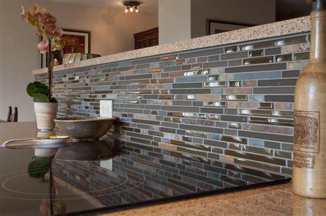 Kitchen With Mosaic Backsplash by 54 Blue Mosaic Tile Backsplash Blue Shell Tile Glass