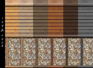 log cabin interior wall set 18 colors by mustluvcatz at With interior paint colors for log cabins