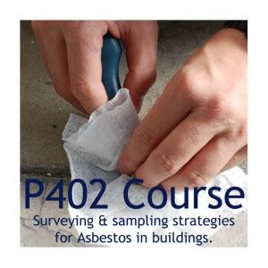 p surveying  sampling strategies  asbestos