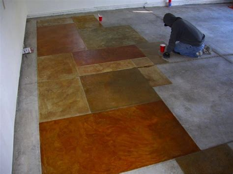 DIY Stained Concrete   How To Revitalize Any Concrete