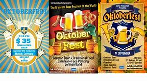 Oktoberfest Party Flyers! | Design Studio