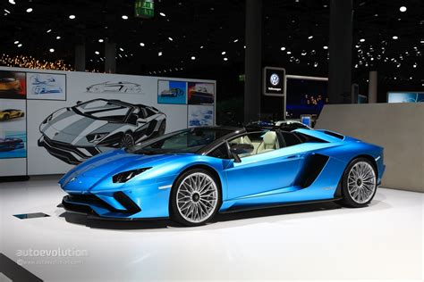 2018 Lamborghini Aventador S Roadster Rendered As The