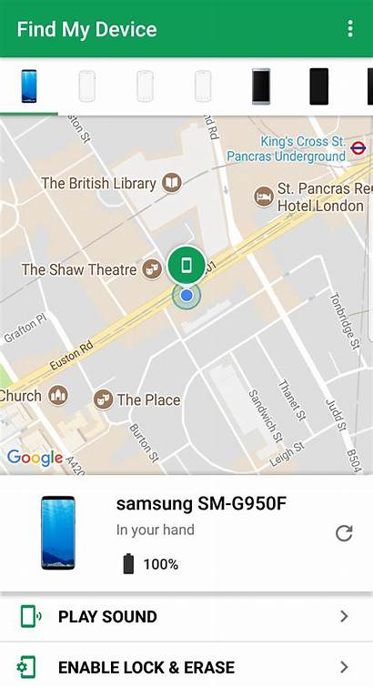 Phone Android Device Lost Iphone Location Google