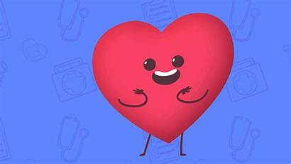 Heart Playkids Giphy Happy Medico Gifs Doctor