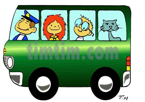 Cartoon Bus Driver