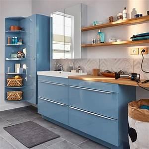 Meuble Salle Bain Castorama : meuble salle de bain bleu castorama avec salle bains bleu et meuble salle de bain bleu castorama ~ Melissatoandfro.com Idées de Décoration