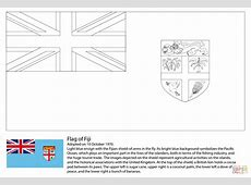 Flag of Fiji coloring page Free Printable Coloring Pages
