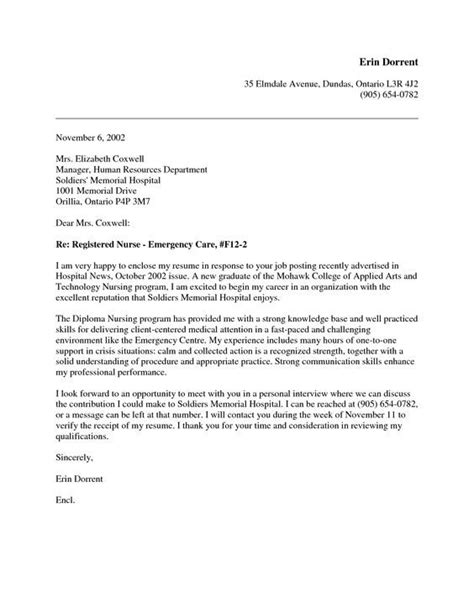 grad nursing cover letter google search nursing