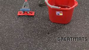how to clean rubber flooring in 4 easy steps youtube With how to clean rubber flooring