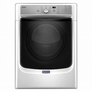 Maytag 7 4 Cu  Ft  Gas Dryer With Steam In White