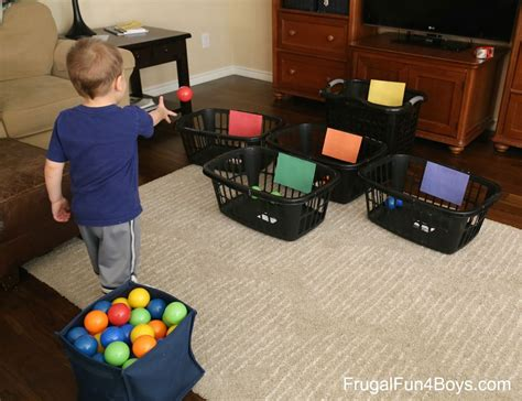 Ideas For Active Play Indoors