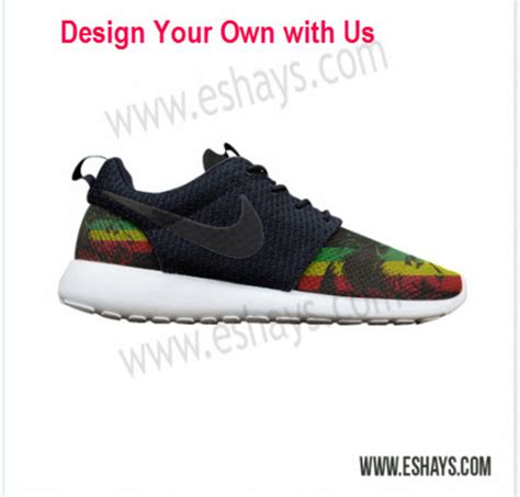 design your own nike shoes shoes nike id jamaica print green yellow