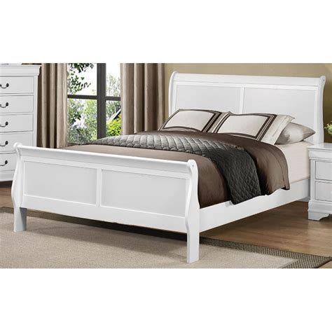 rc willey beds mayville white king bed