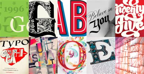 Inspirational Typography & Lettering