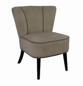 Fauteuil Crapaud Beige : fauteuil crapaud beige aspect velours mobilier ~ Teatrodelosmanantiales.com Idées de Décoration
