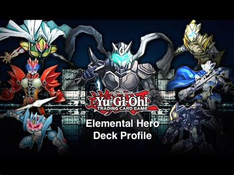 yu gi oh elemental hero masked hero deck profile