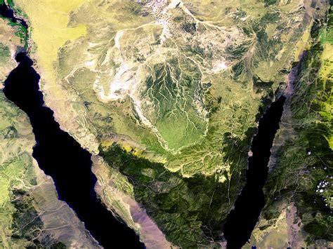 space  images   sinai peninsula