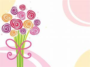 Flower Bouquet Powerpoint Templates