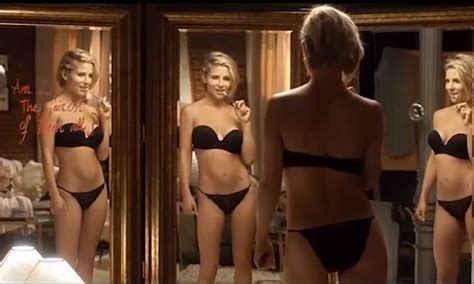 barbora bobulova sexy elsa pataky stuns in lingerie caign eight months after