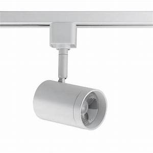 Led Track Lighting Heads Dimmable White 12 Watt Led Small Cylinder Track Head For Halo