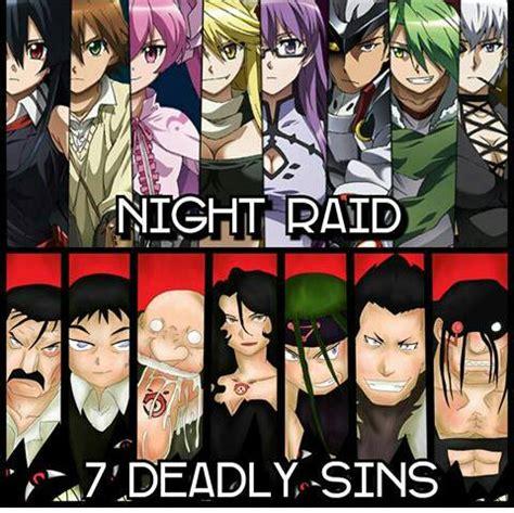 night raid   deadly sins  battles wiki fandom