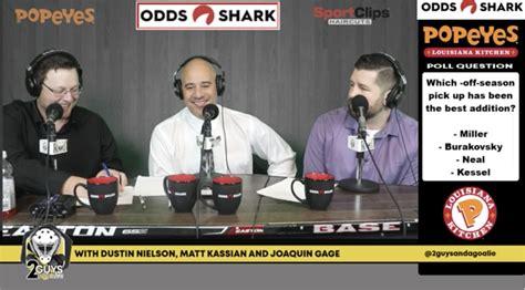guys   goalie pres  odds shark ep  fandrew