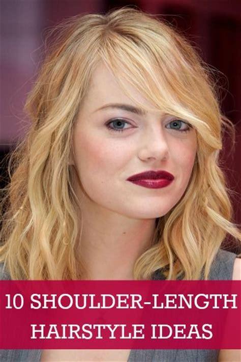 10 Shoulderlength Hairstyles We Love