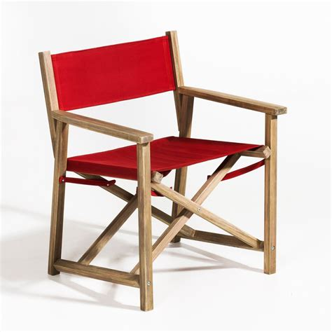 fauteuil de metteur en fauteuil metteur en sc 232 ne alfred pliable et pas cher