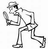 Spy Coloring Pages sketch template