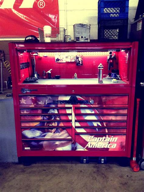 toolbox   day captain america tool box tool chest