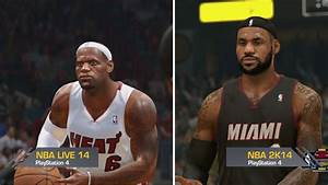 NBA Live 14 and NBA 2K14 Full Court Comparison on the PS4 ...