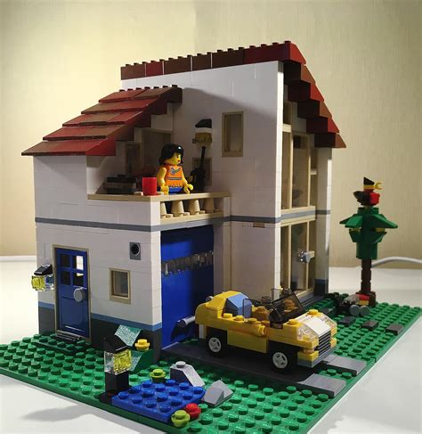Lego® Creator ᐅ Lego Haus Und Stadtvilla (31012)  Lego Test