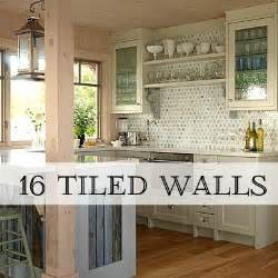 tin tiles for kitchen backsplash trend alert tiled walls home stories a to z
