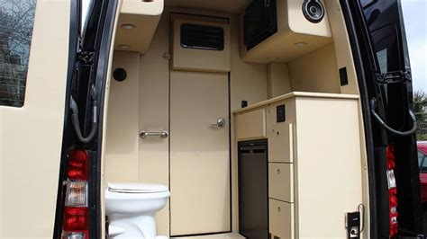posh mercedes sprinter    bathroom  kitchen