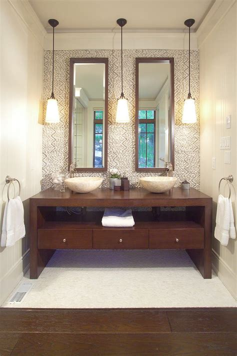 toronto double pedestal sink bathroom contemporary