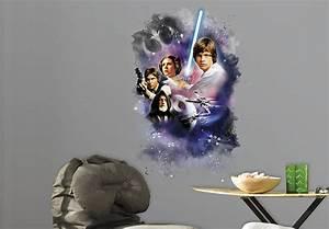 Star Wars Vorhänge : wandsticker star wars classic set episode 4 wall ~ Lateststills.com Haus und Dekorationen
