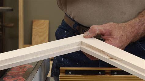 glass panel door frame   lap joints