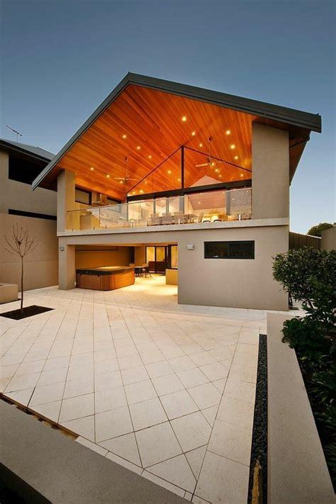 Style De Maison Moderne Excellent Modle Original Chalet Style Rustique Chambres Foyer