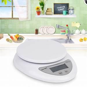 New 5kg 5000g/1g Digital Kitchen Food Diet Postal Scale ...