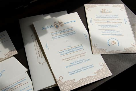 The Symbolism In Jewish Wedding Invitations