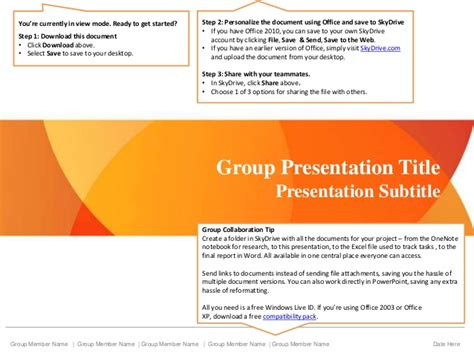 presentation title powerpoint slideshare