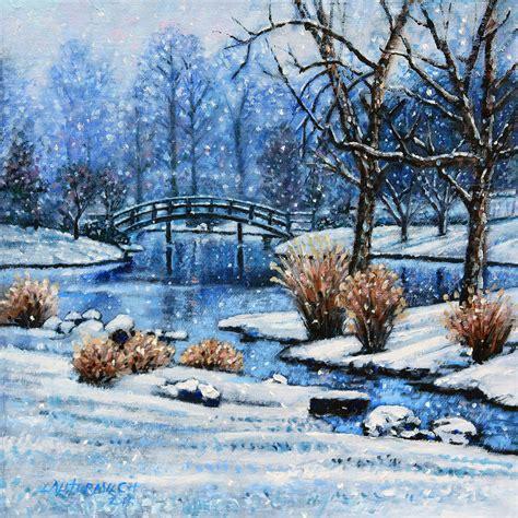japanese winter painting  john lautermilch