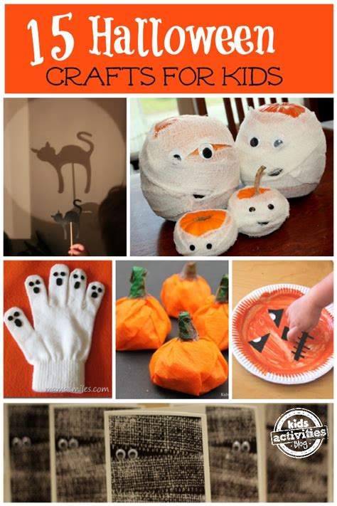 easy halloween crafts  kids