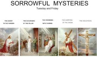 Rosary Sorrowful Mysteries of the Living