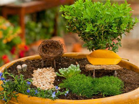 How To Create A Fairy Garden In A Container  Howtos Diy