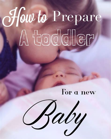 How To Prepare A Toddler For A New Baby Jealous Babies