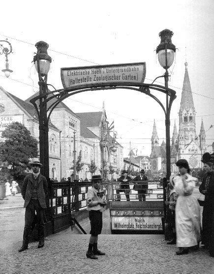 Zoologischer Garten Potsdam by Um 1908 Eingang Zum U Bahnhof Zoologischer Garten